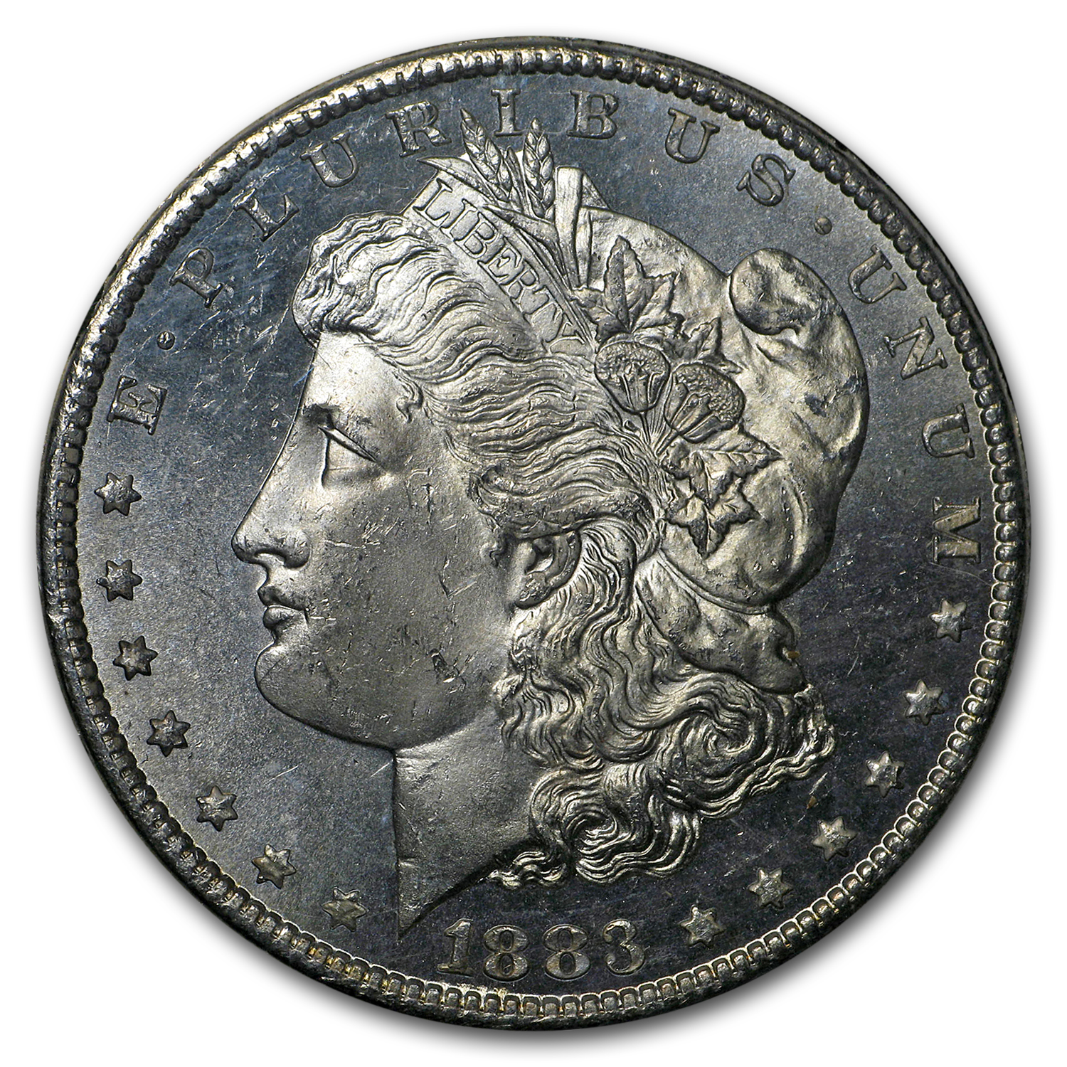 1883-CC Morgan Dollar MS-64 PL NGC (GSA Certified)