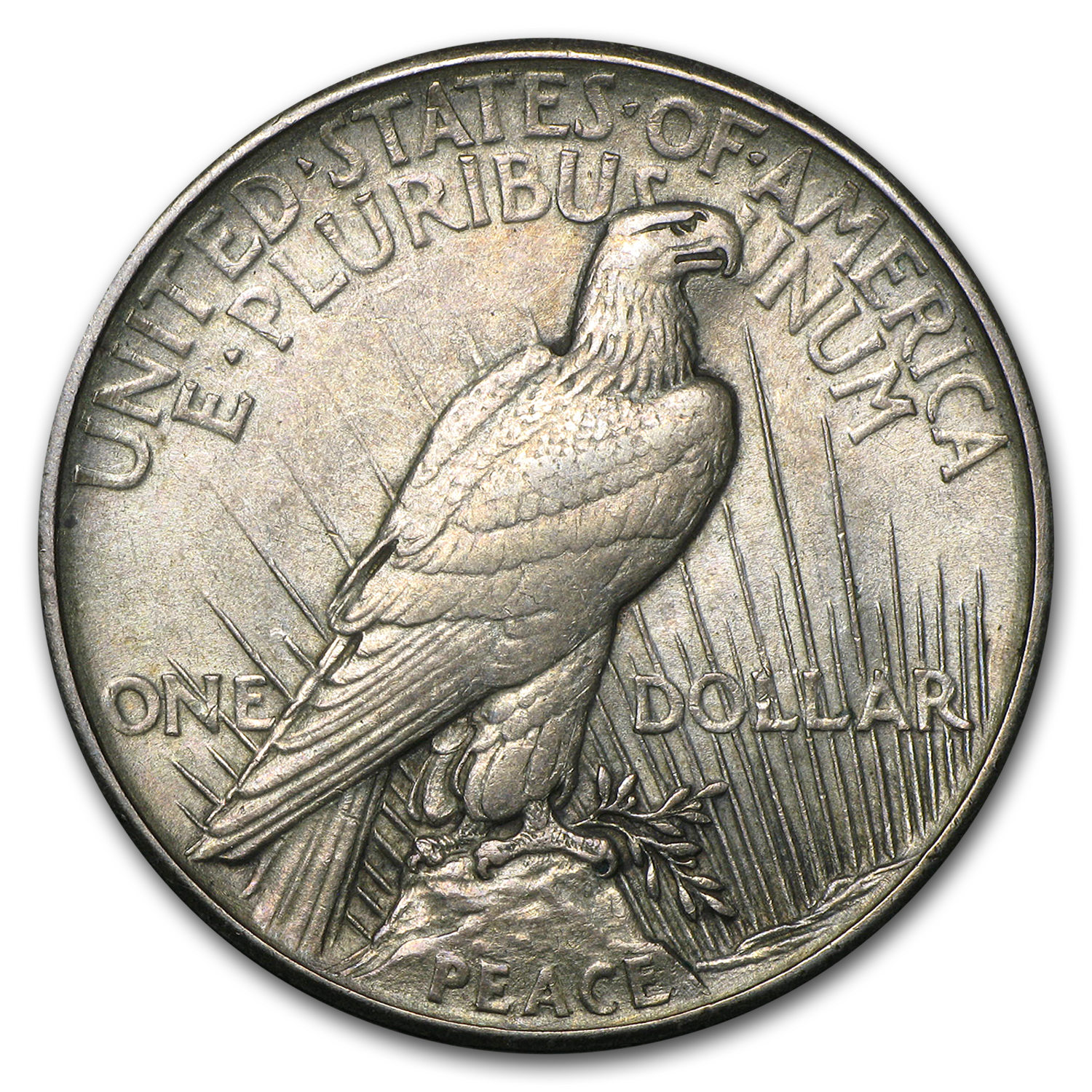 High Relief Peace Dollar 1921 Peace Dollar au High