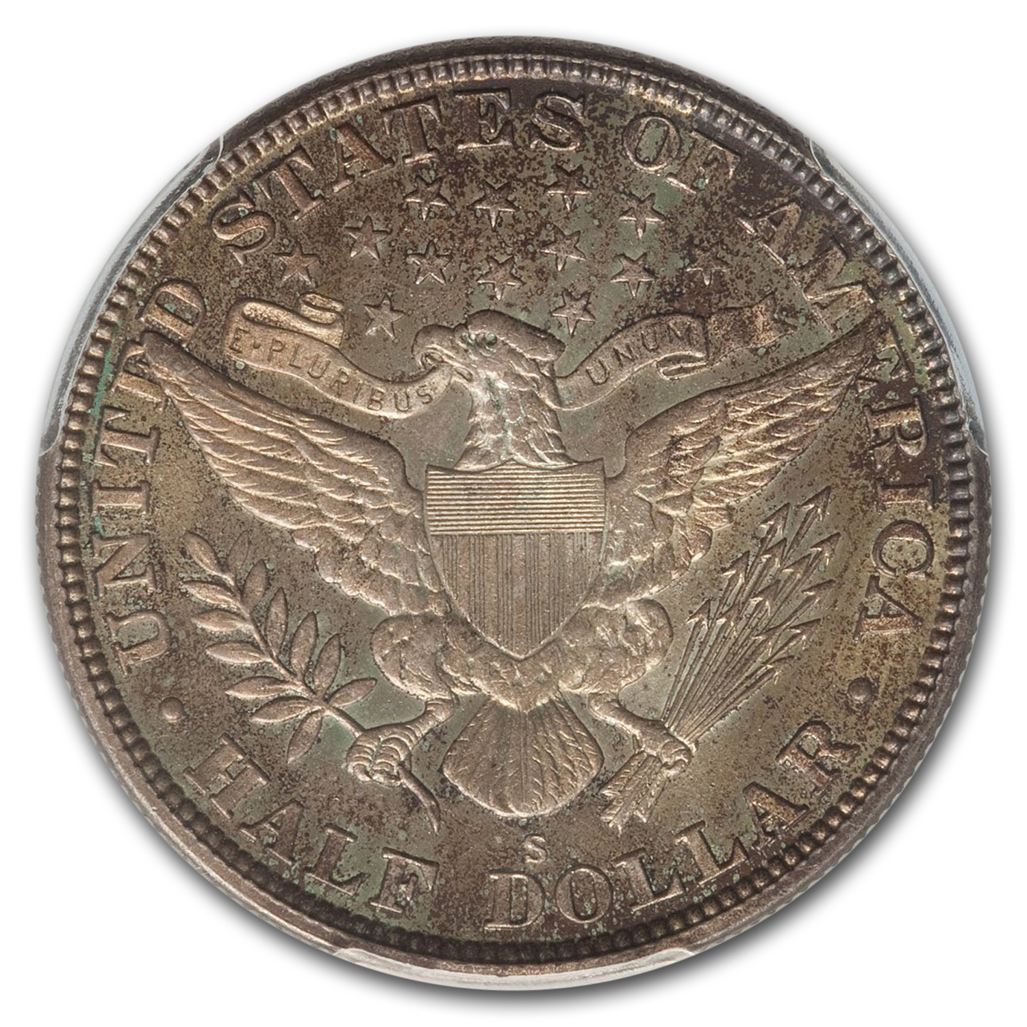 1915-S Barber Half Dollar MS-65 PCGS