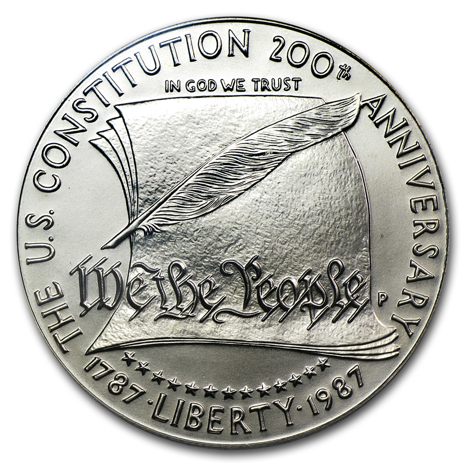 1987-P Constitution $1 Silver Commemorative MS-69 PCGS