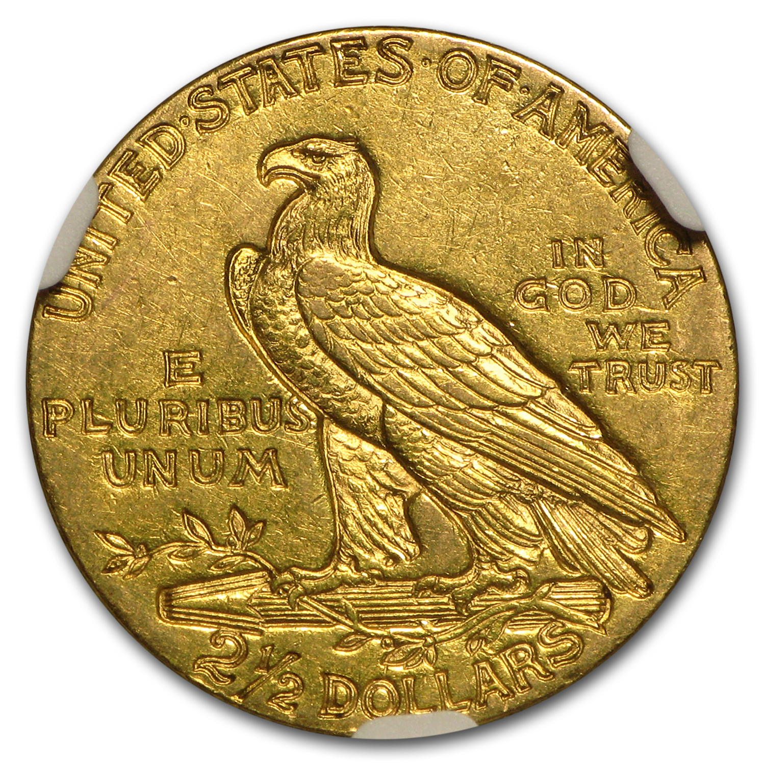 1911 $2.50 Indian Gold Quarter Eagle AU-55 NGC