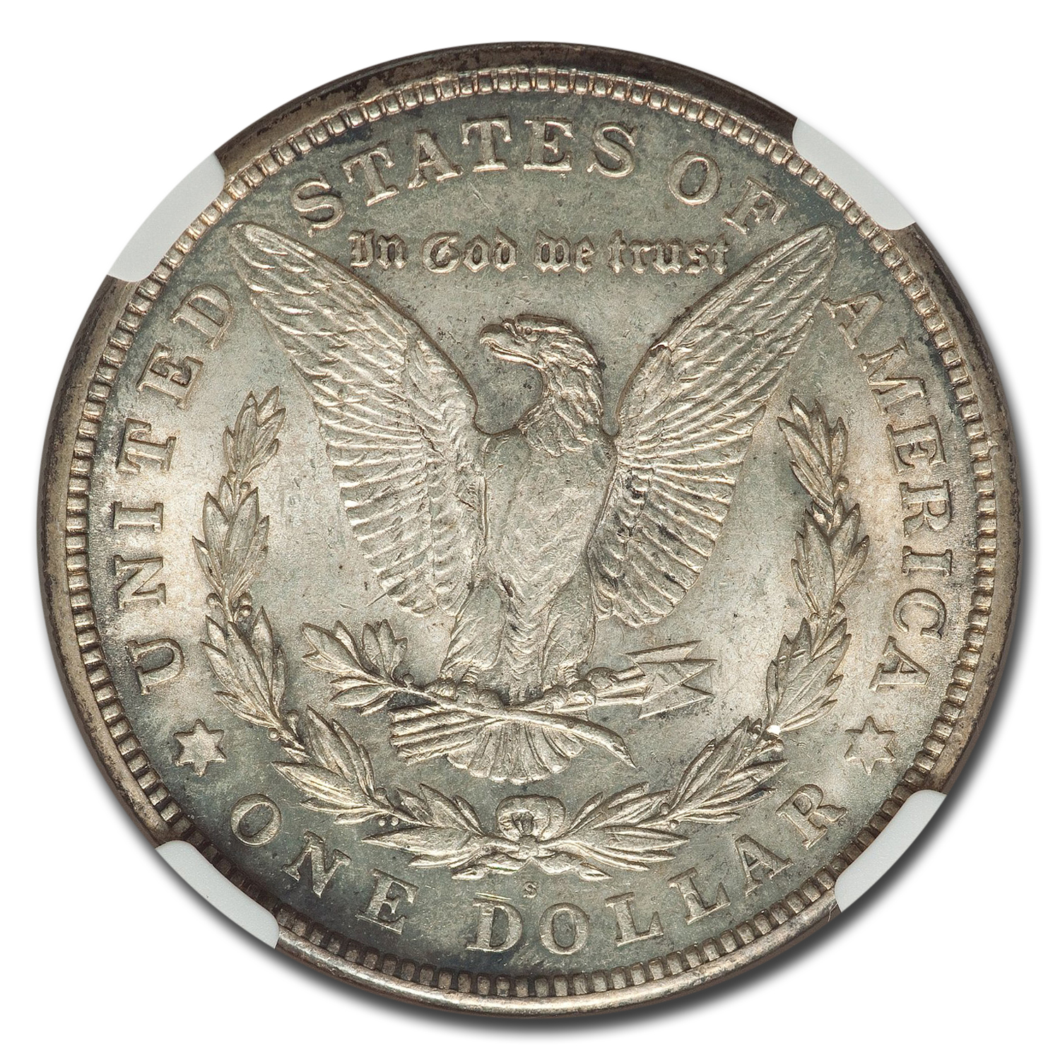 1921-S Morgan Dollar MS-64 NGC