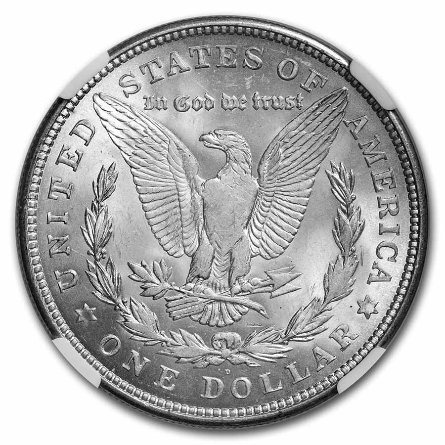 1921-D Morgan Dollar - MS-65 NGC