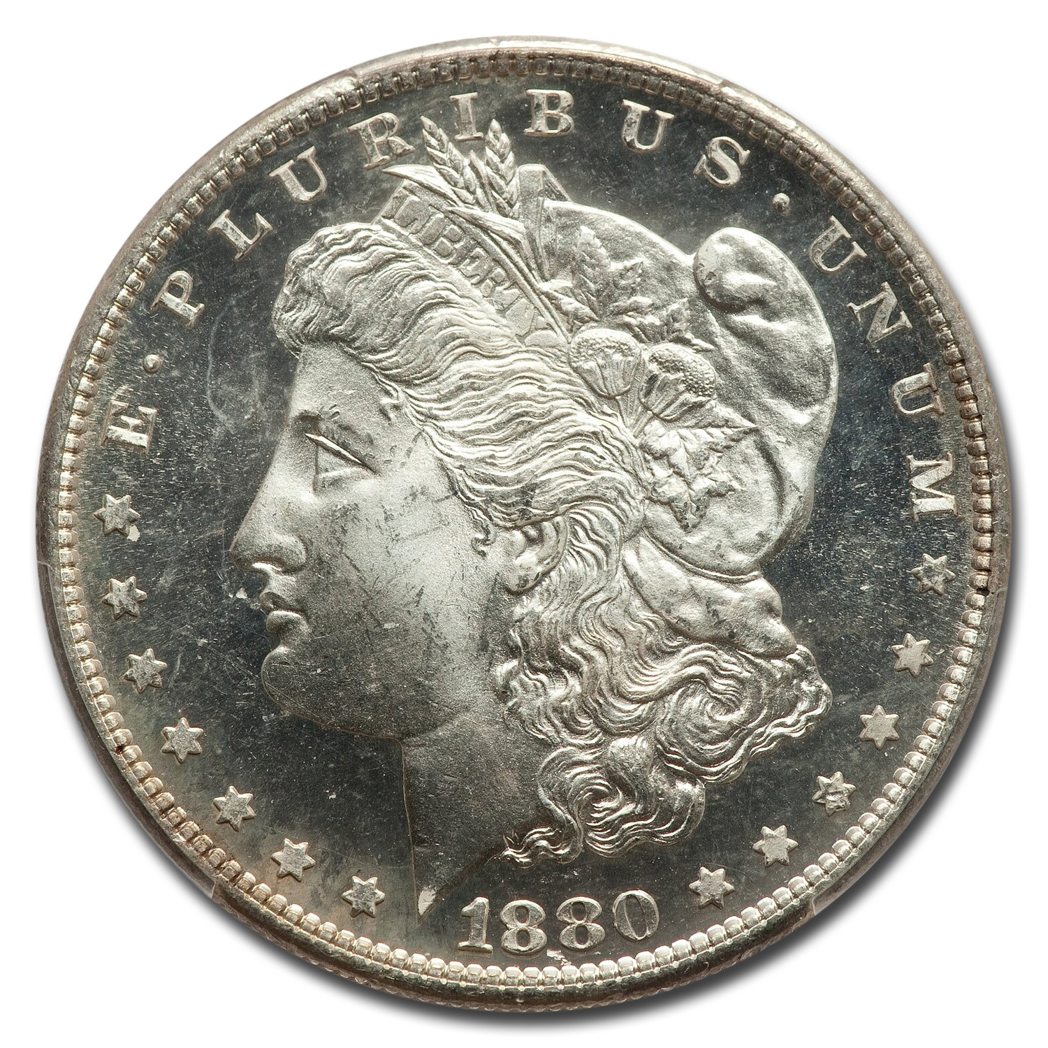 1880-S Morgan Dollar MS-66 PL Proof Like PCGS