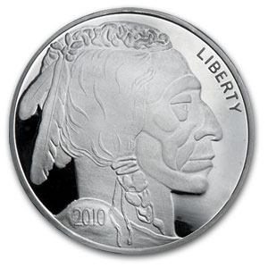 12 oz Silver Round - Buffalo Nickel (Proof)