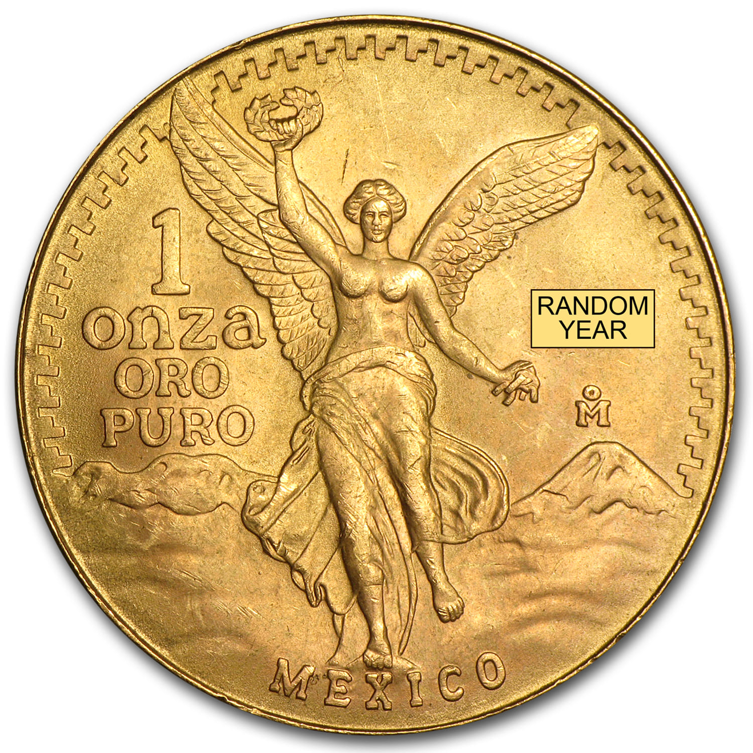 Mexico 1 oz Gold Onza &/or Libertad BU (Random Year)