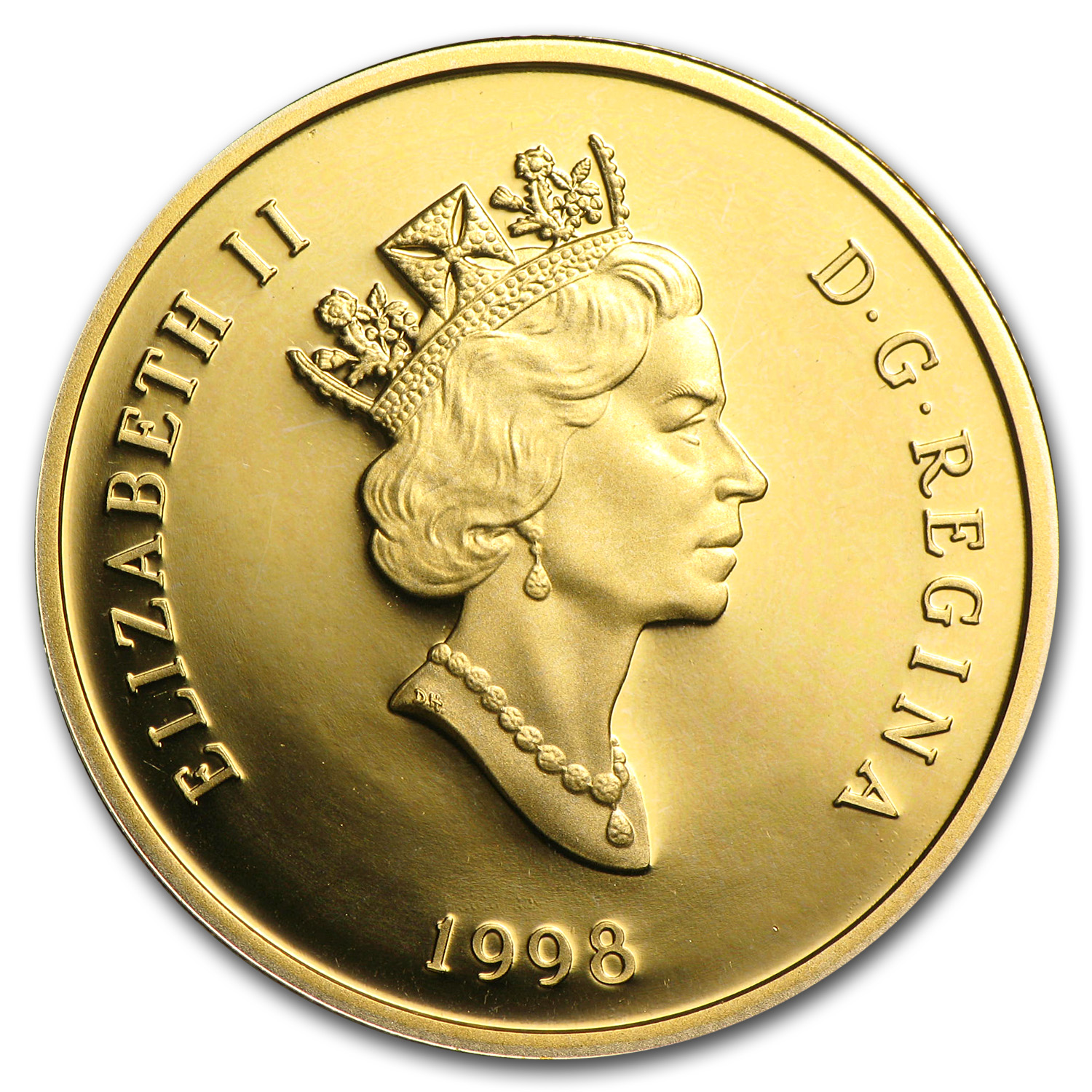 Canada 1998 $100 1/4oz Gold Proof - Nobel Prize (Insulin)