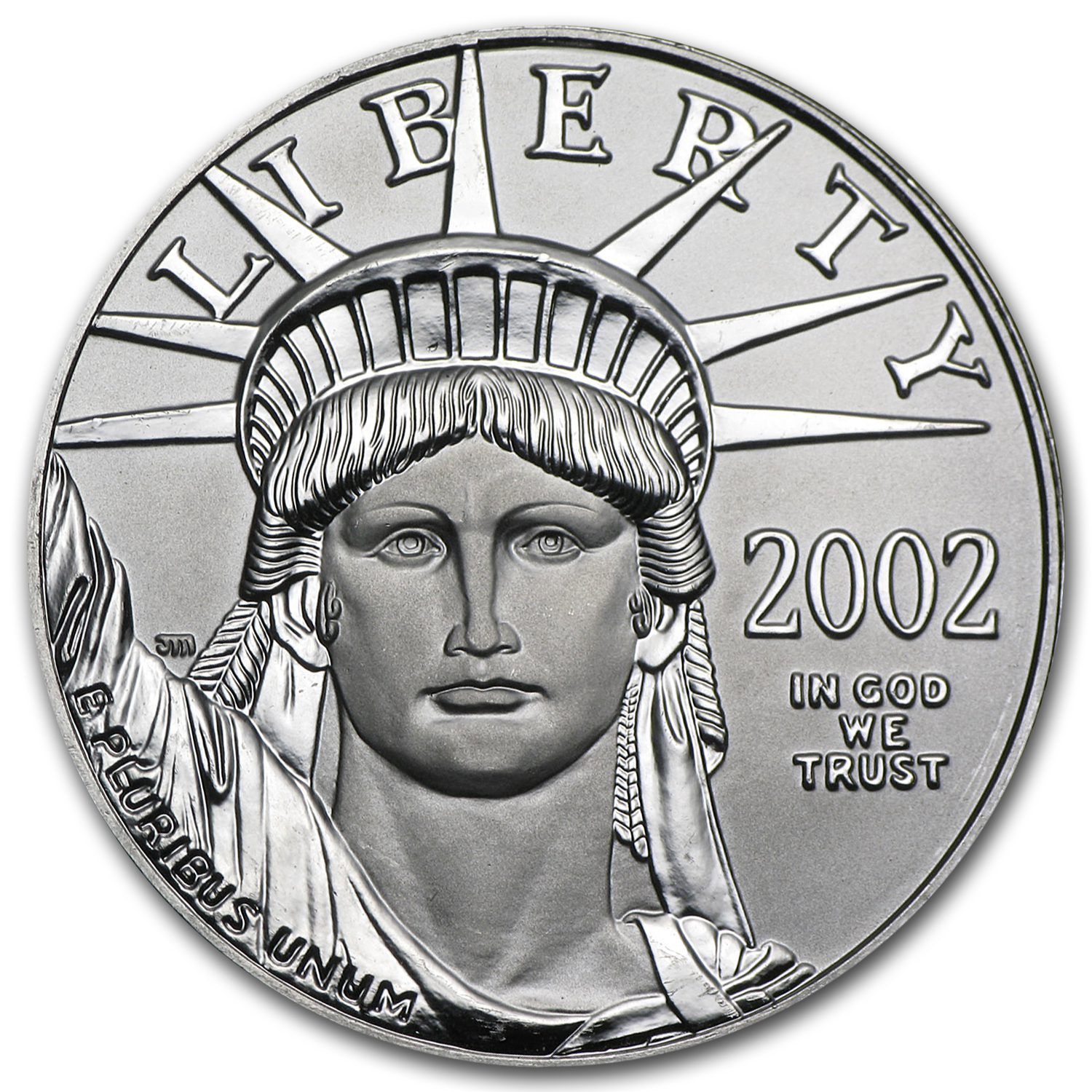 2002 1 oz Platinum American Eagle - Brilliant Uncirculated