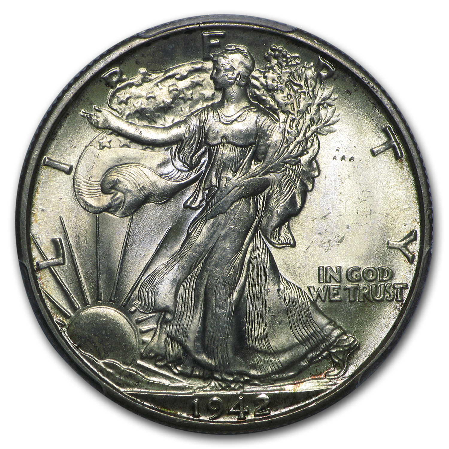 1942-D Walking Liberty Half Dollar MS-65 PCGS