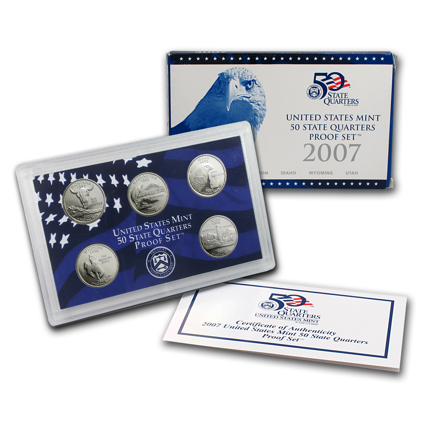 2007 50 State Quarters Proof Set