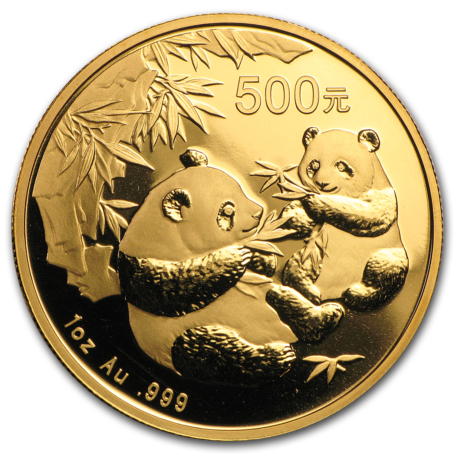2006 China 1 oz Gold Panda BU (Not Sealed)
