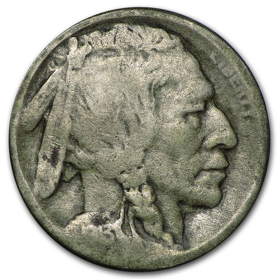 1913 S Type Ii Buffalo Nickel Good Buffalo Nickels 1913