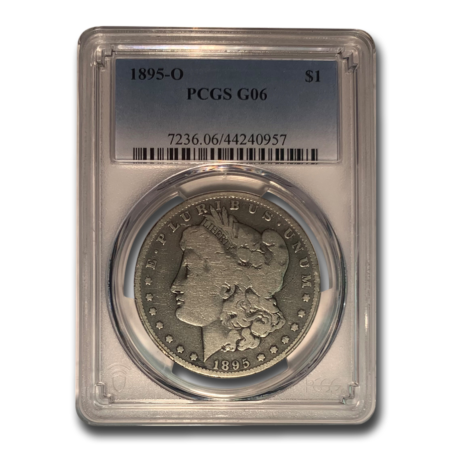 1895-O Morgan Dollar Good-6 PCGS