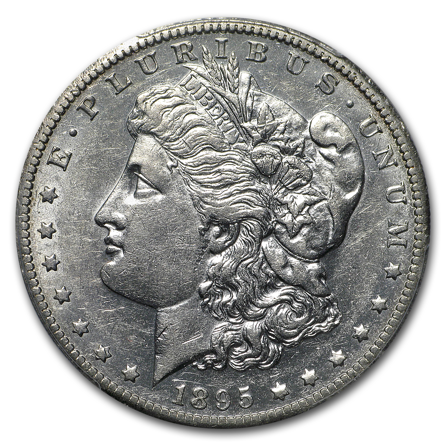 1895-O Morgan Dollar AU-50 PCGS