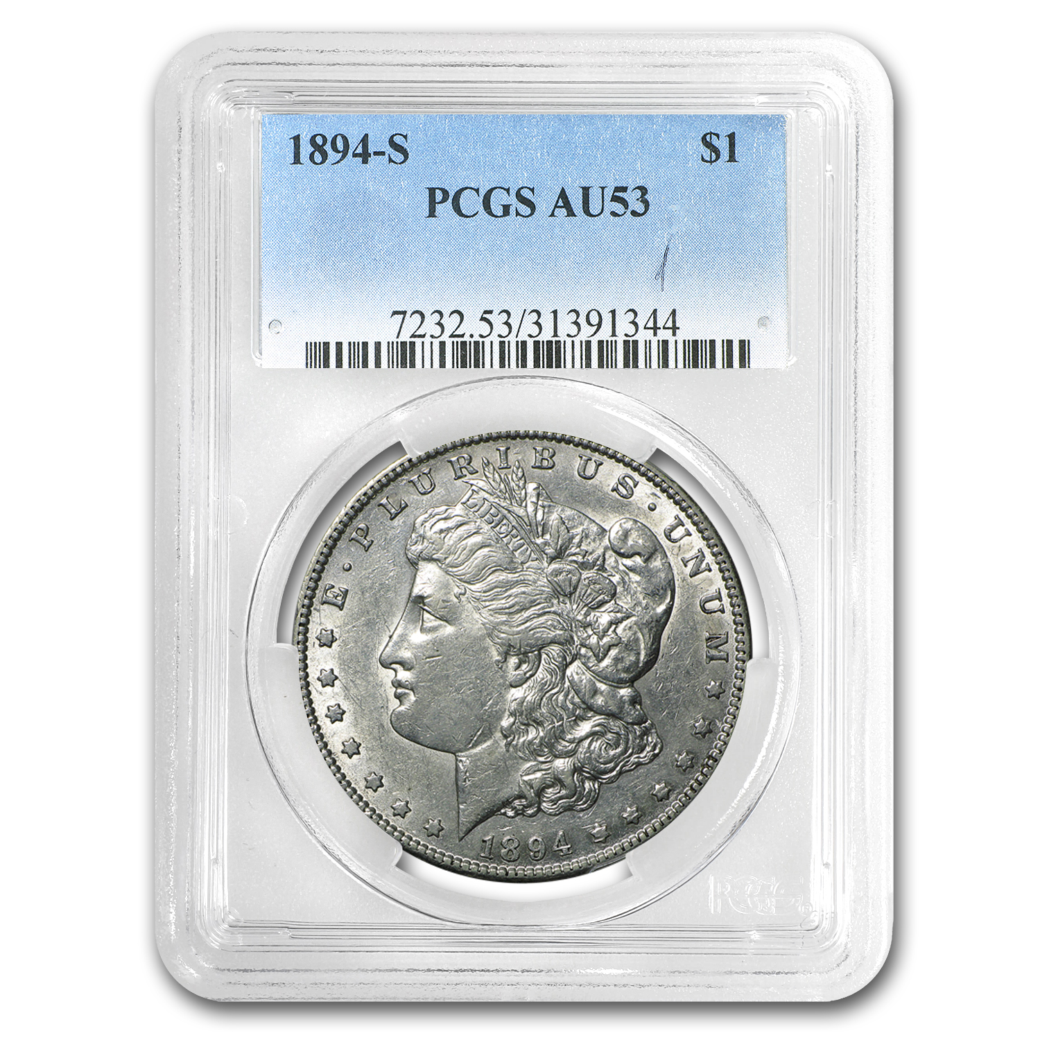 1894-S Morgan Dollar AU-53 PCGS