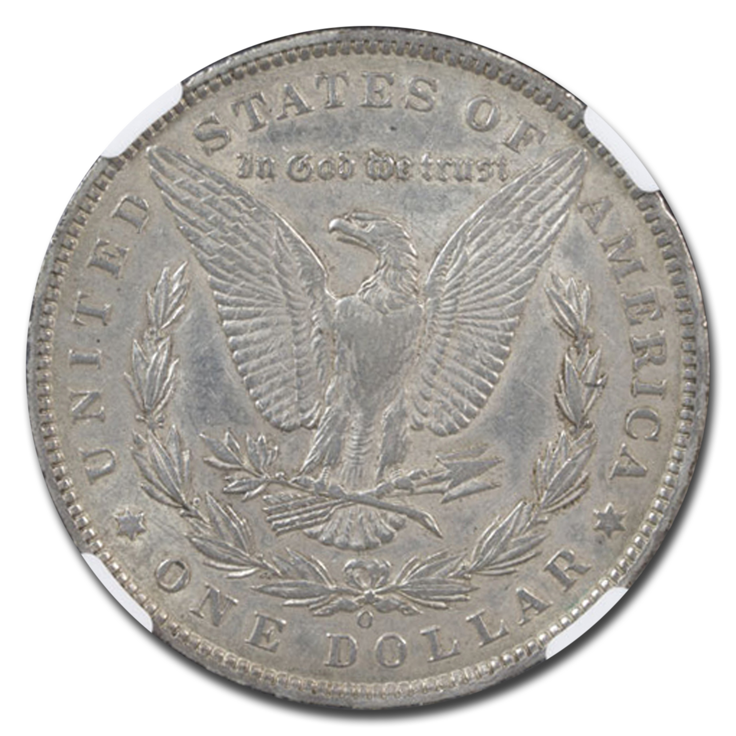 1897-O Morgan Dollar AU-50 NGC