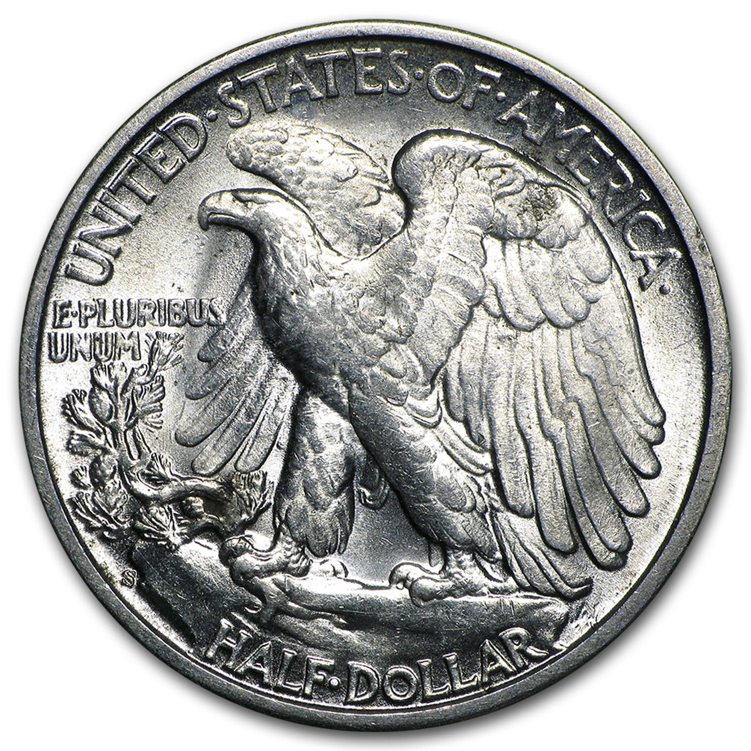 1943-S Walking Liberty Half Dollar BU