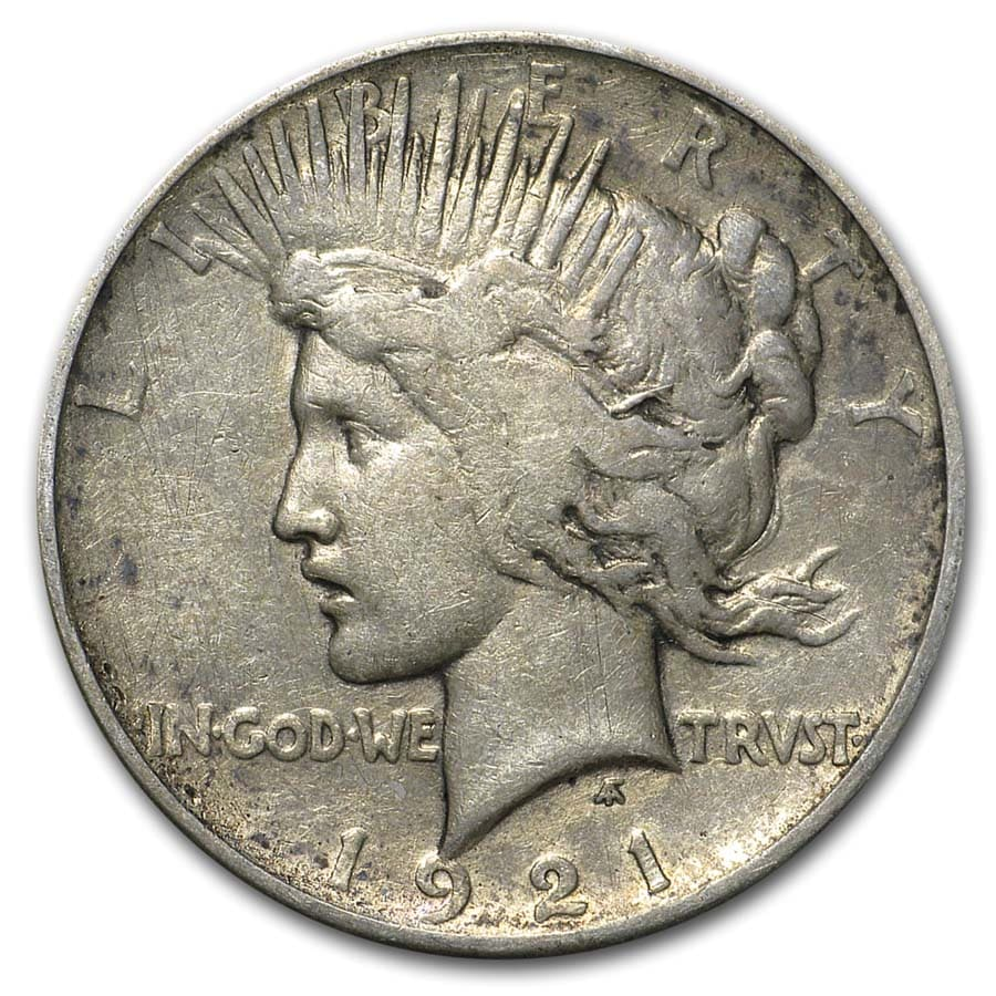 1921-1935 Peace Dollar 24-Coin Complete Set (Dansco Album)