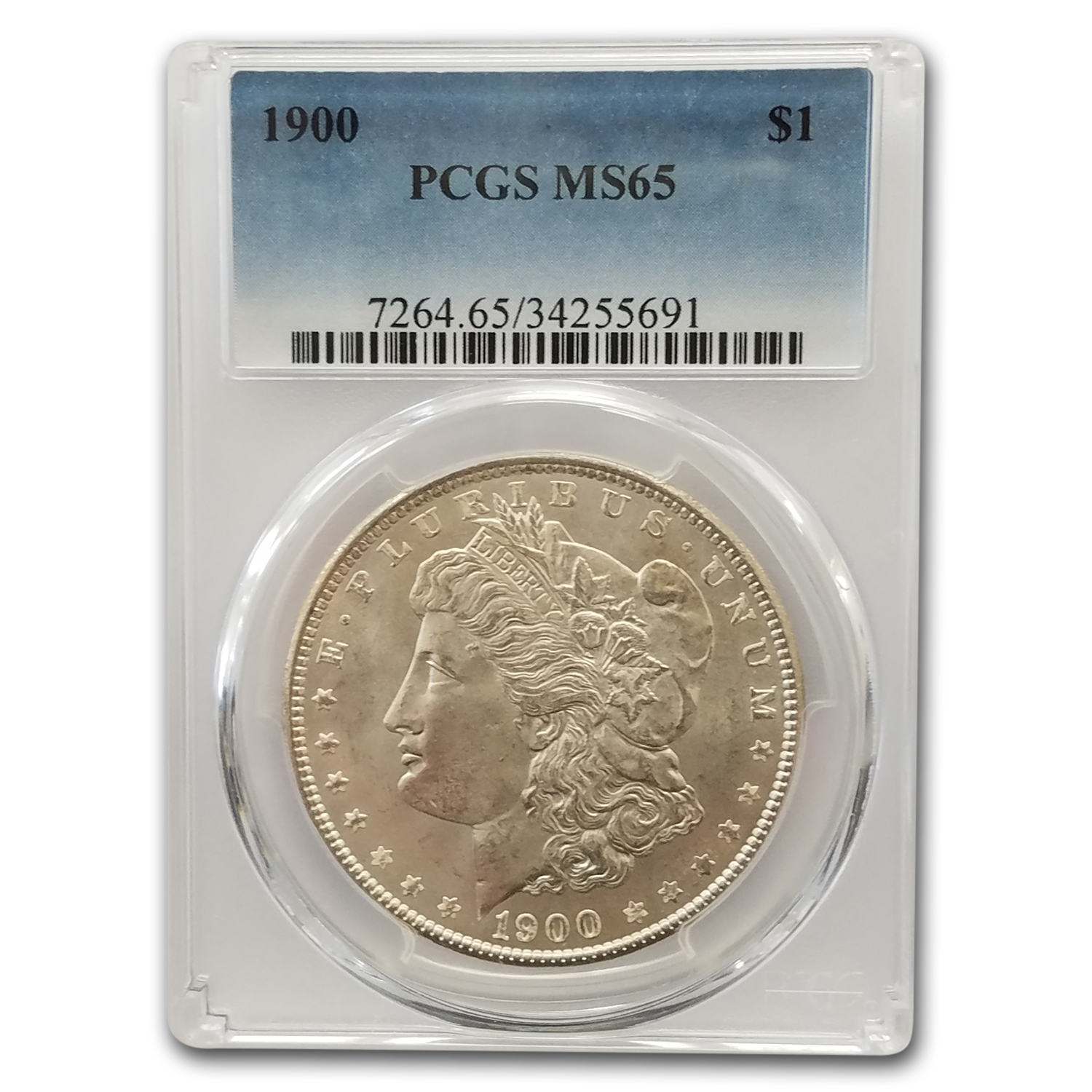 1900 Morgan Dollar MS-65 PCGS