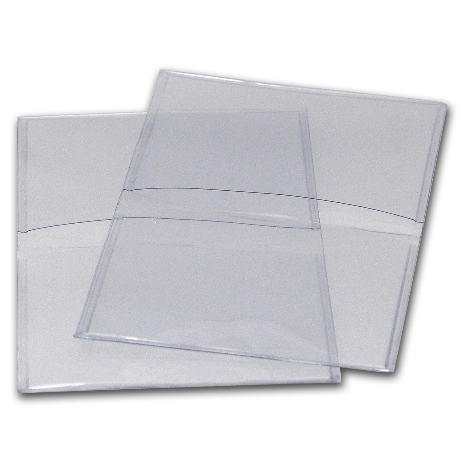 2 X 2 Unplasticized Flips (#28UN) No Inserts - (1,000 count)