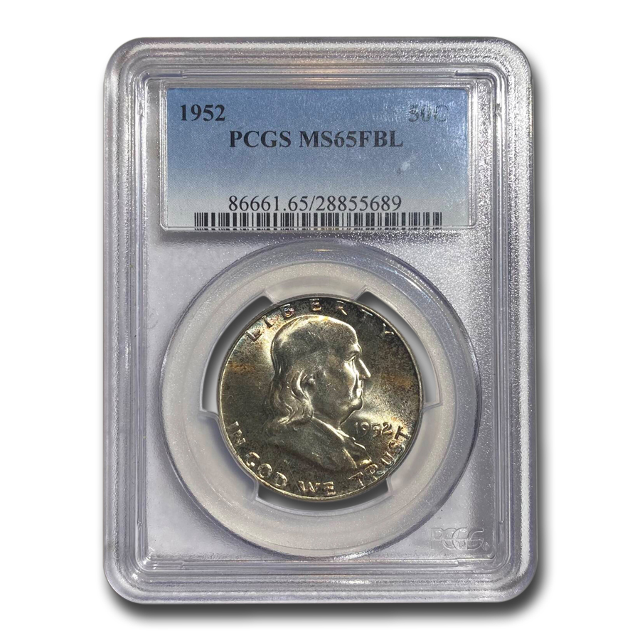 1952 Franklin Half Dollar MS-65 PCGS (FBL)
