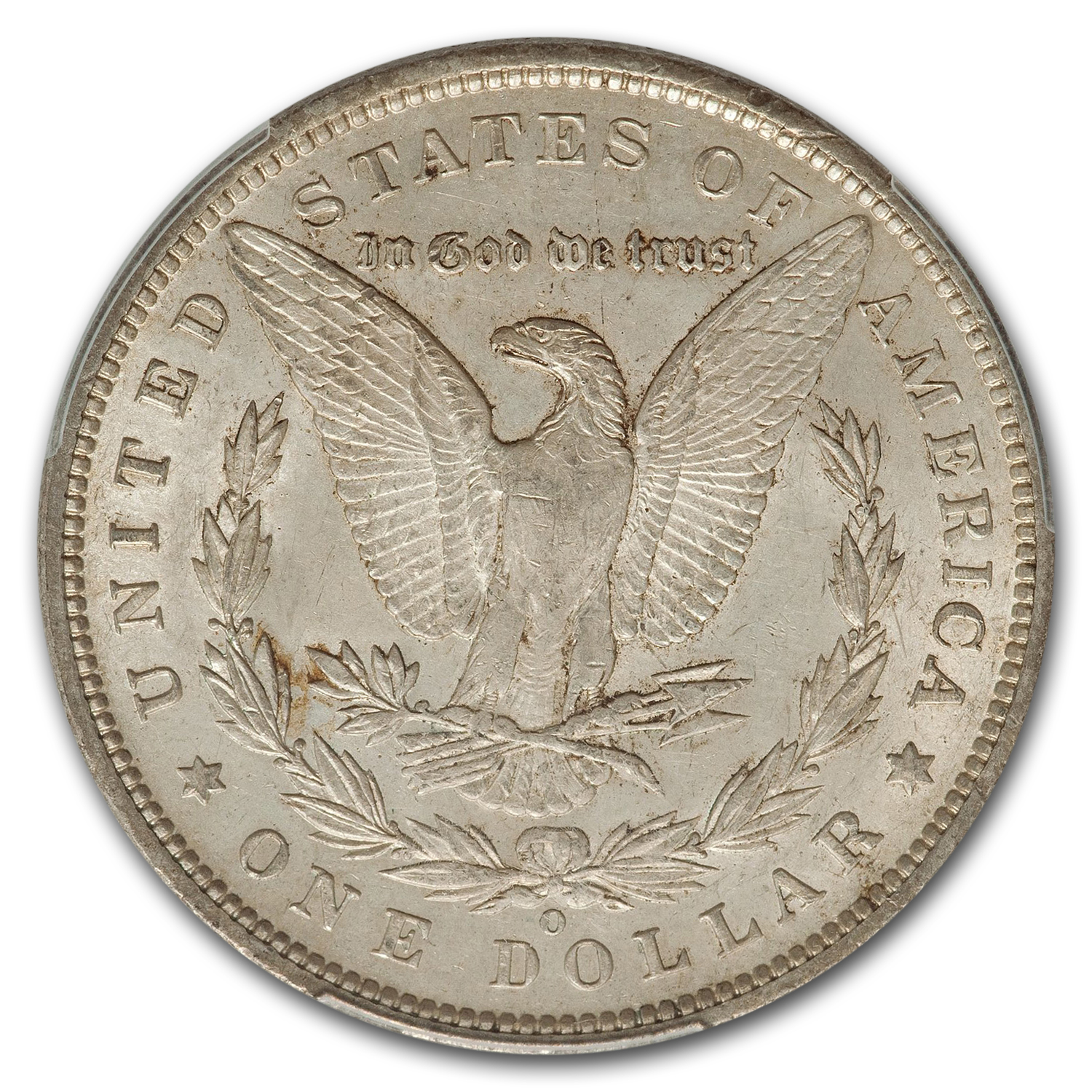 1896-O Morgan Dollar AU-58 PCGS