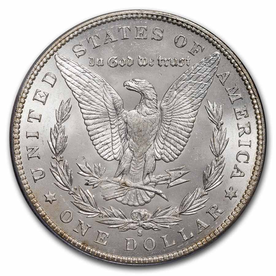 1894-S Morgan Dollar MS-63 PCGS