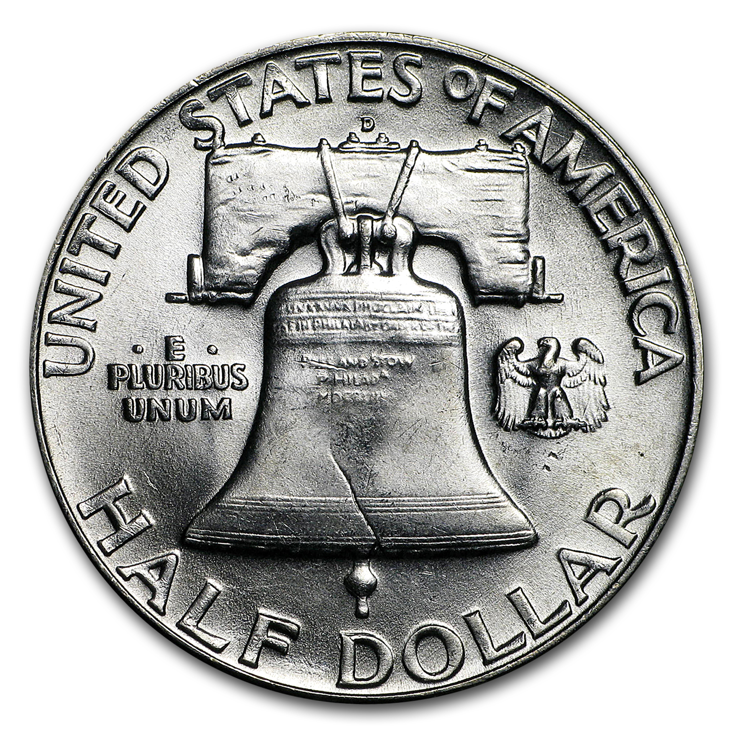 1954-D Franklin Half Dollar BU