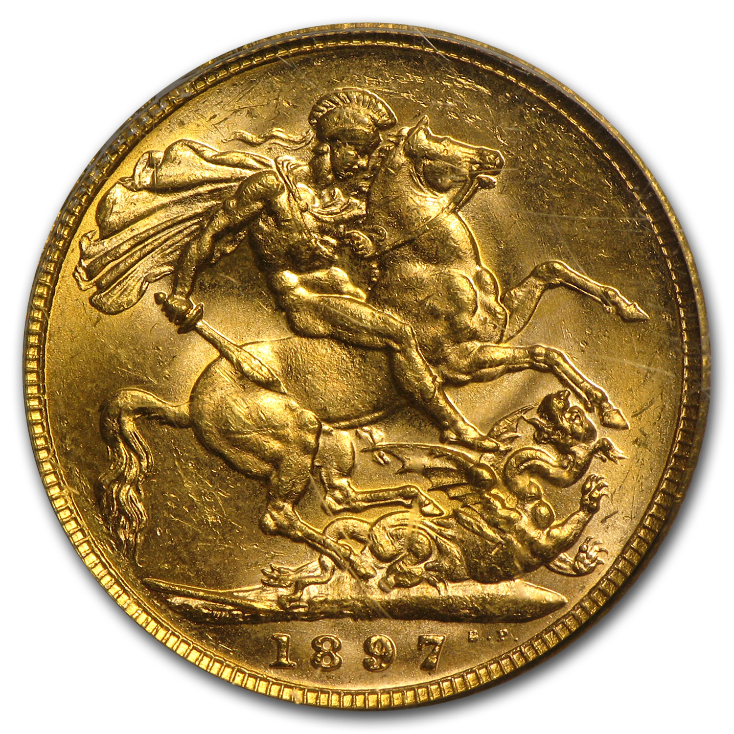 Australia Gold Sovereigns of Victoria NGC/PCGS MS-62