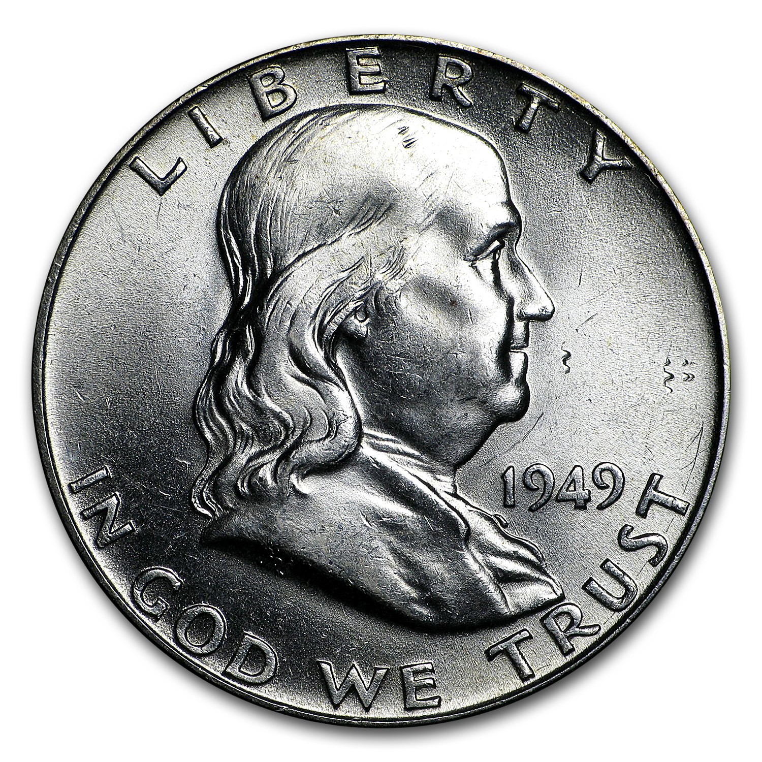 1949 Franklin Half Dollar BU