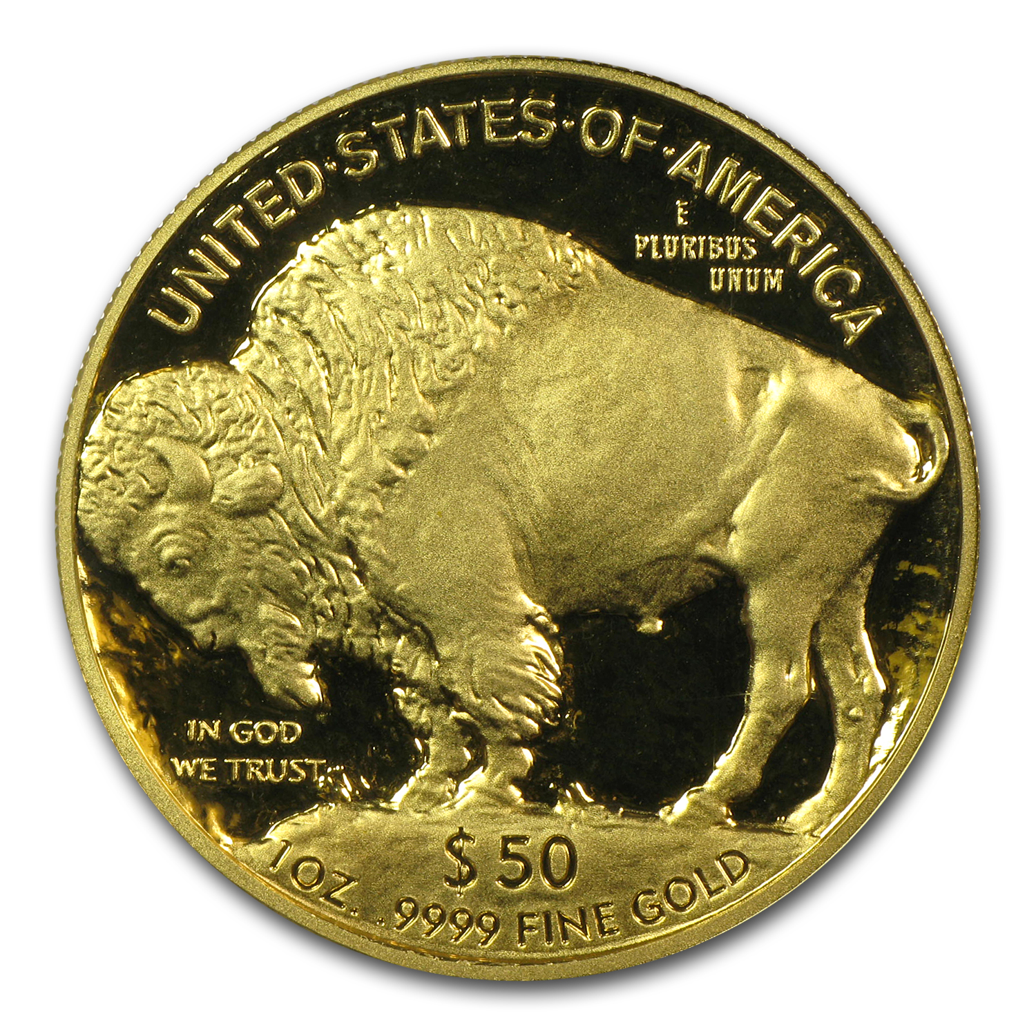 2007-W 1 oz Proof Gold Buffalo PR-70 PCGS (First Strike)