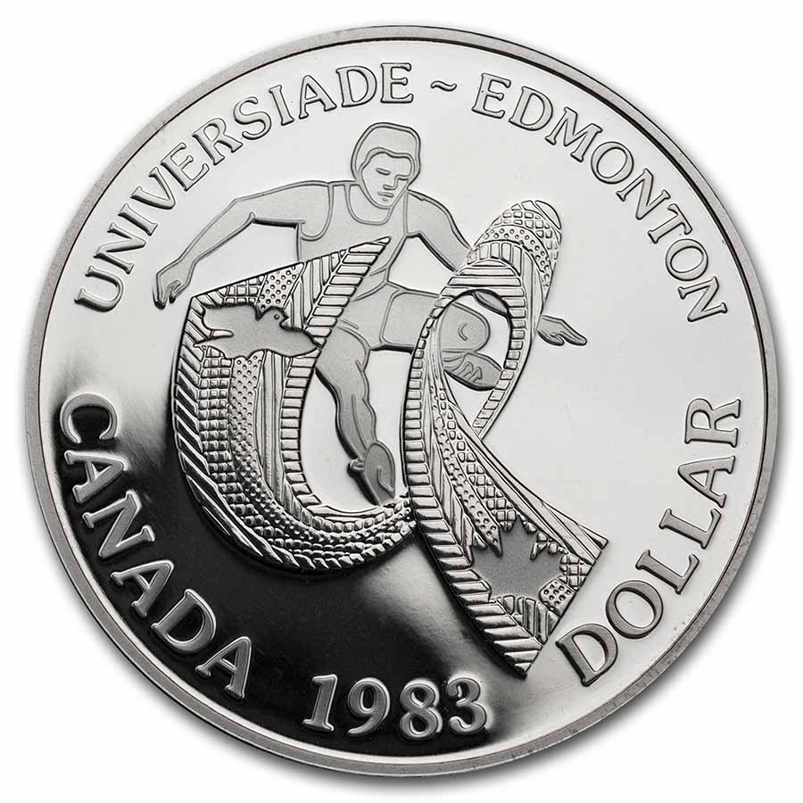 1983 Canada Silver Dollar Proof