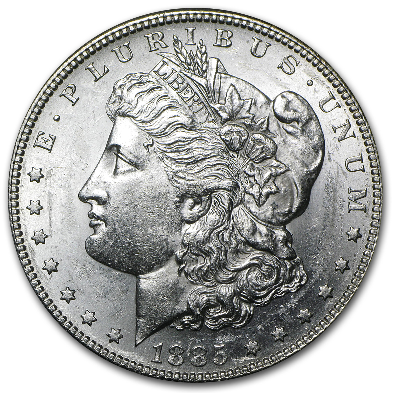 1885-S Morgan Dollar BU