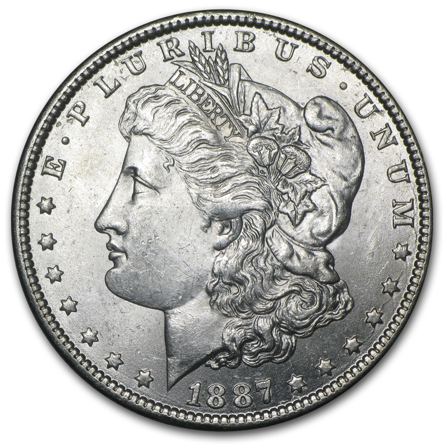 1887-O Morgan Dollar - Brilliant Uncirculated