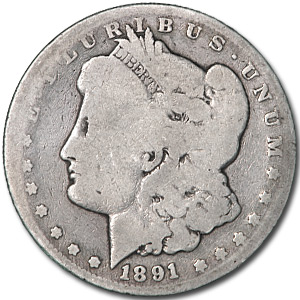 1891-CC Morgan Dollar - Almost Good