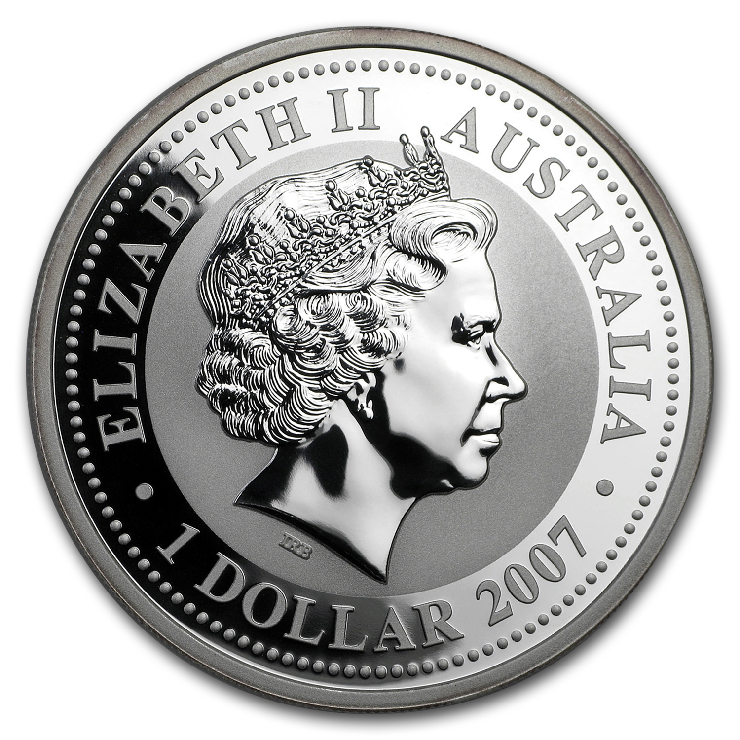 2010 Australia 1 oz Silver Year of the Tiger BU (Series I)