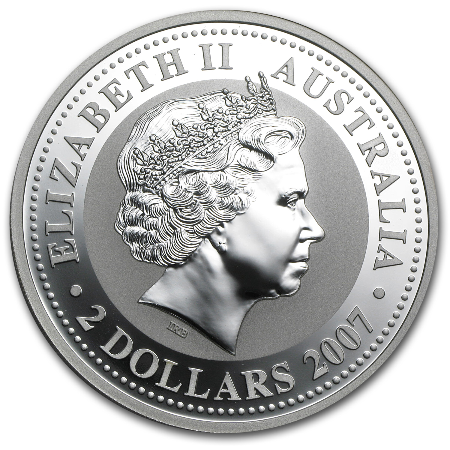 2008 2 oz Silver Australian Year of the Mouse BU (Series I)