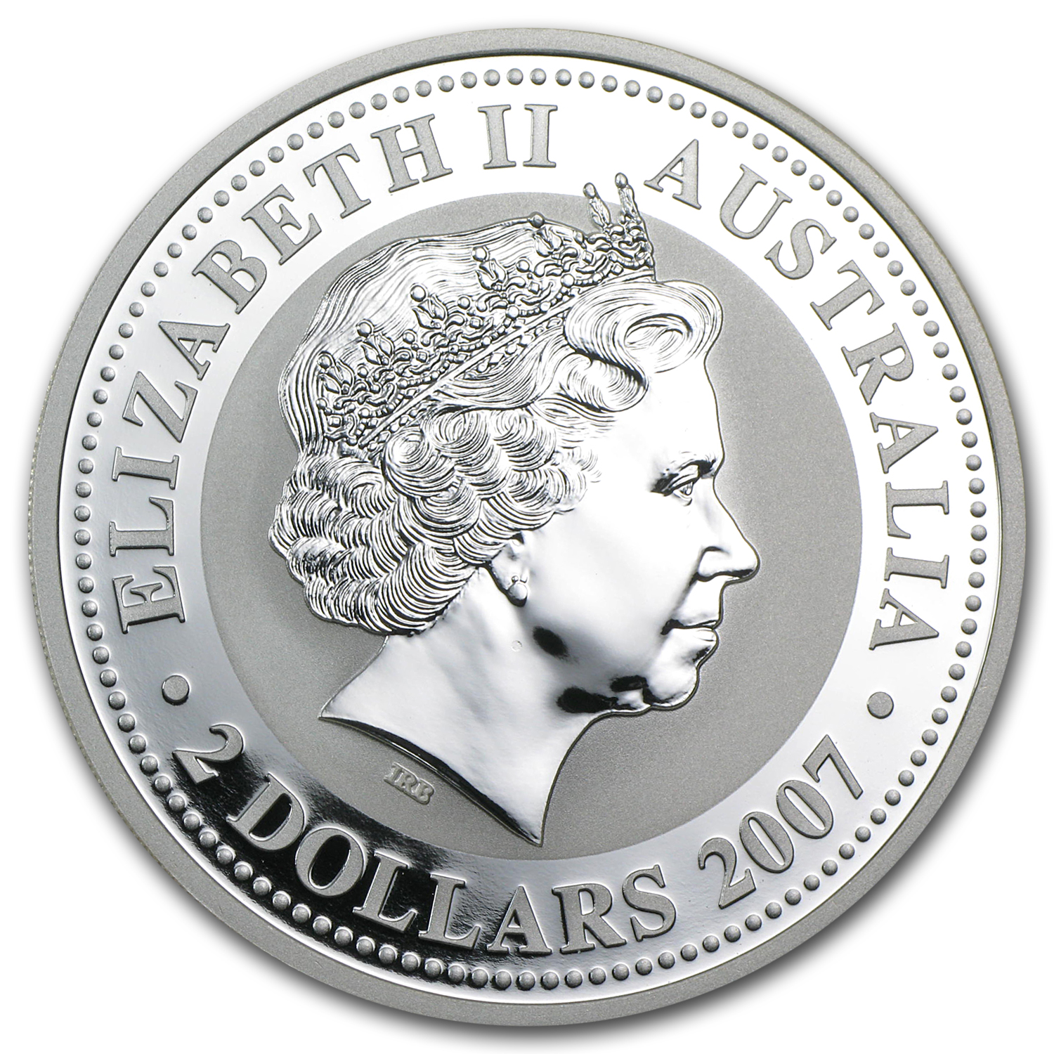 2010 Australia 2 oz Silver Year of the Tiger BU (Series I)