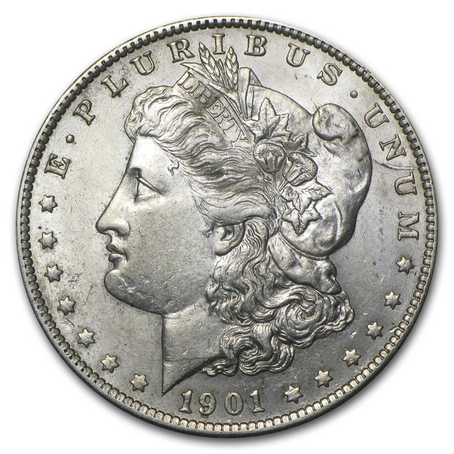 1901-S Morgan Dollar AU