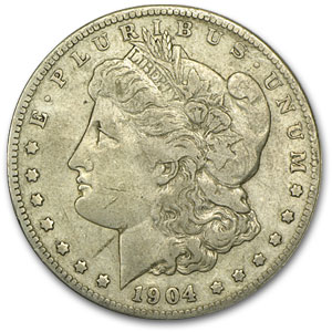 1904-S Morgan Dollar VF-30