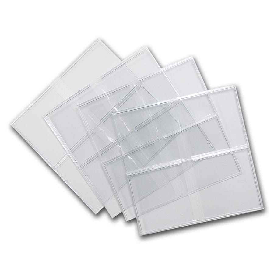 2 X 2 Unplasticized Flips (#28UN) With Inserts - (100 count)