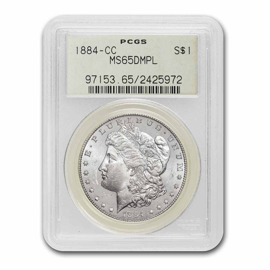 1884-CC Morgan Dollar MS-65 DMPL PCGS