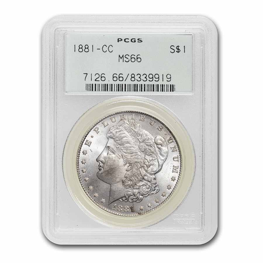 1881-CC Morgan Dollar MS-66 PCGS