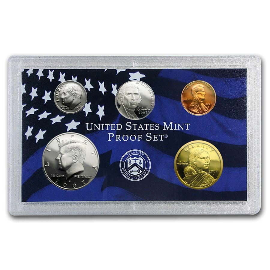 2007 U.S. Proof Set (Clad)