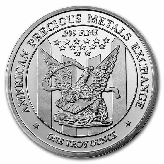 1 Oz 999 Fine Silver Apmex Round For Sale Apmex Silver