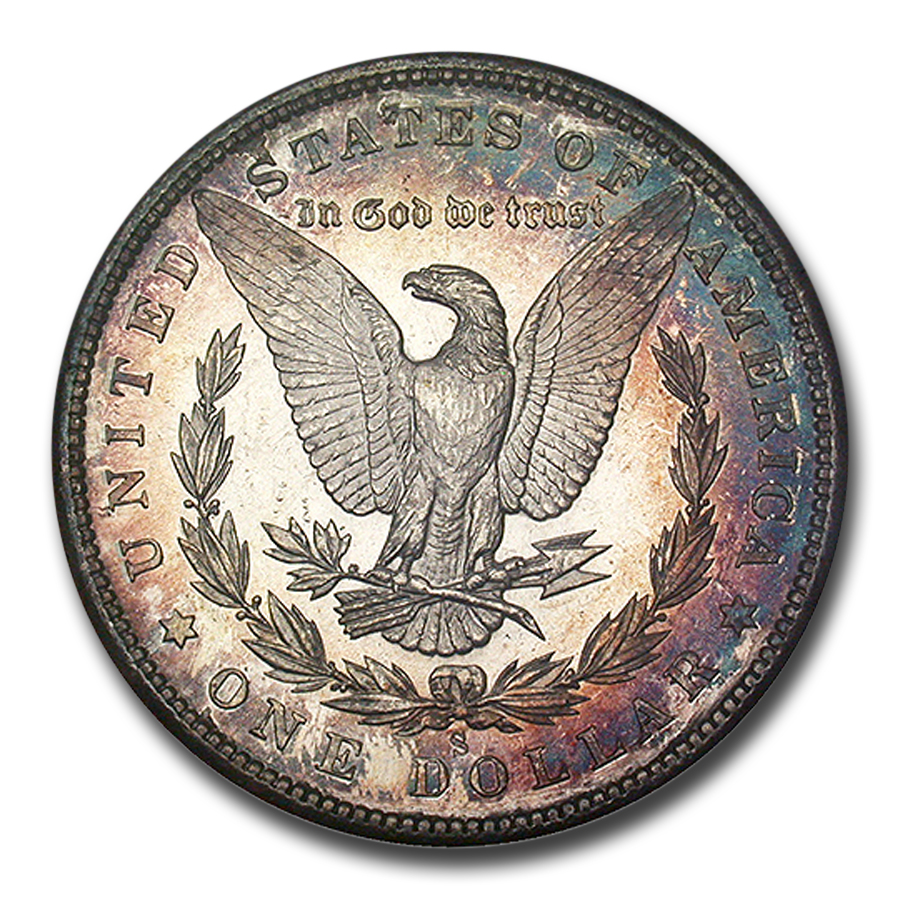 1880-S Morgan Dollar MS-65 (Redfield Hoard)