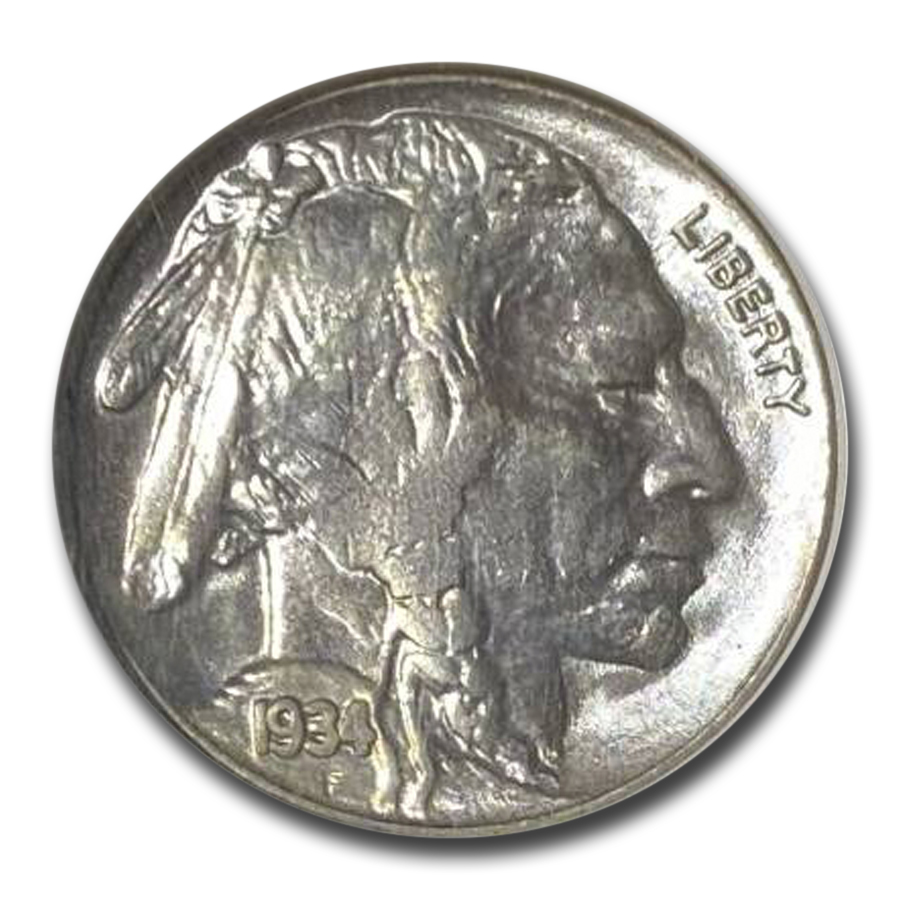 1934 Buffalo Nickel MS-64 NGC