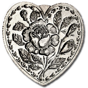 1 oz Silver Hearts - For Someone Special (Rose)