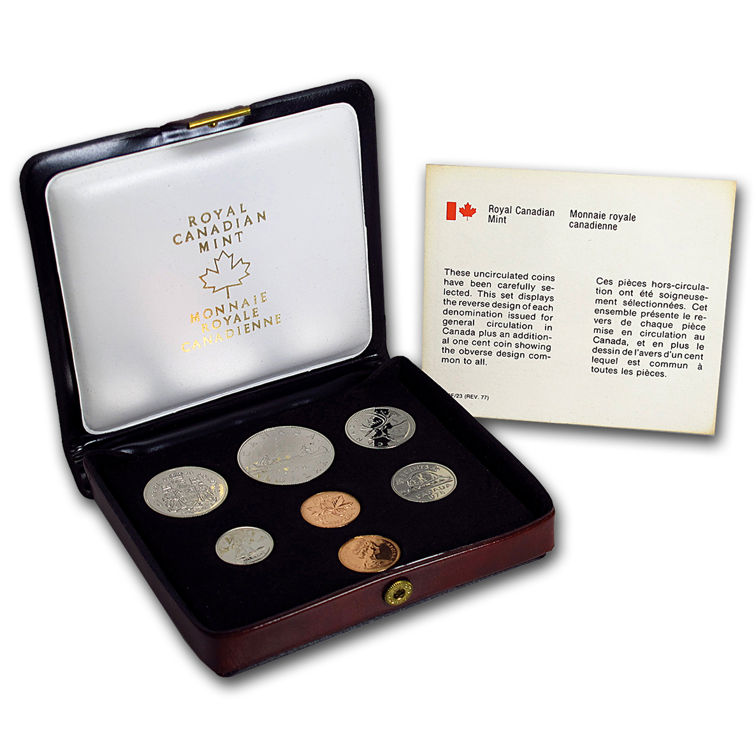 1978 Canada Custom Proof Like Set