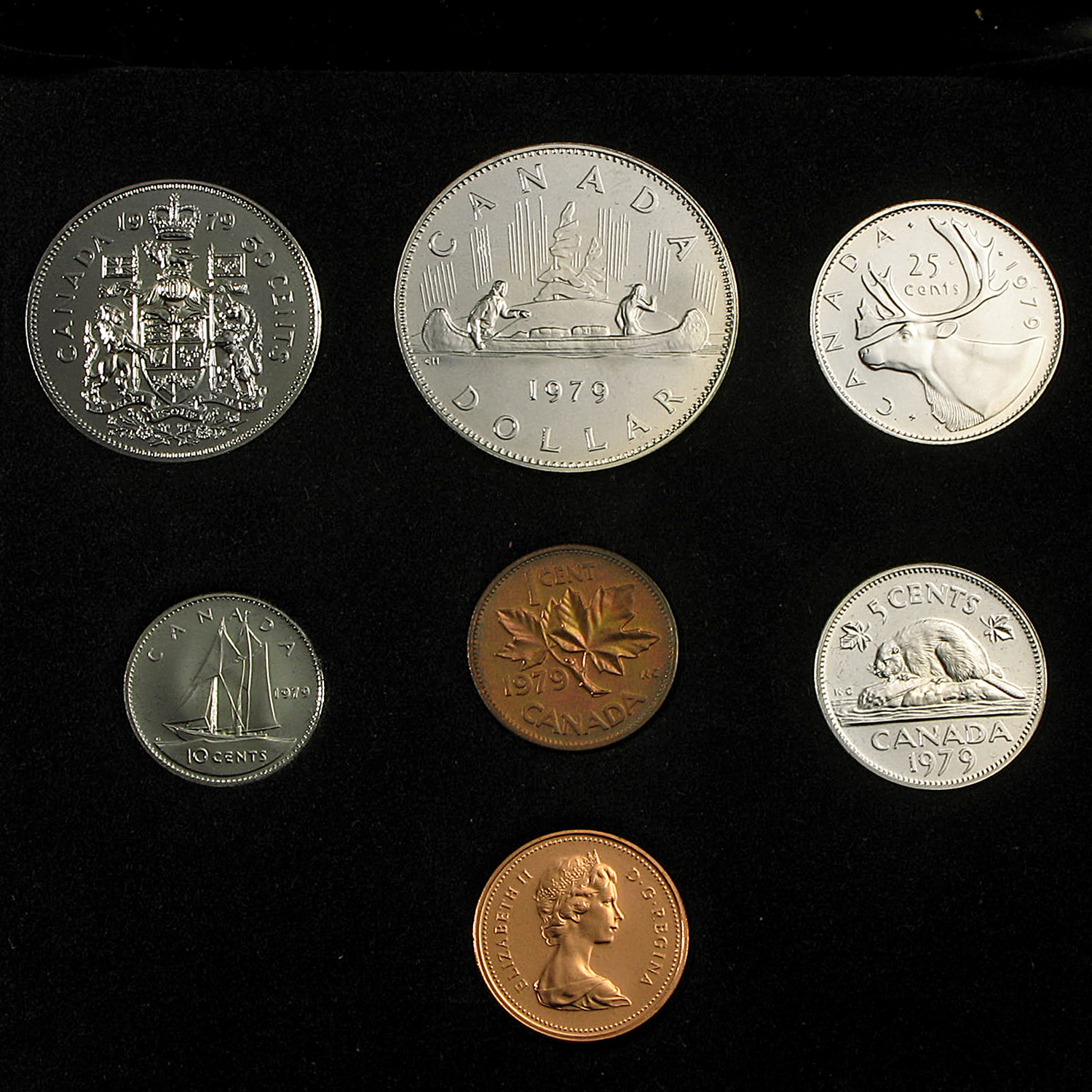 1979 Canada Custom Proof Like Set